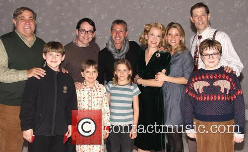 Dan Lauria, Matthew Broderick, Adam Shankman, Erin Dilly and Kelli 1