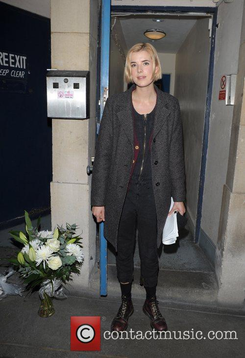 Leaving Trafalgar Studios after her production of 'The...