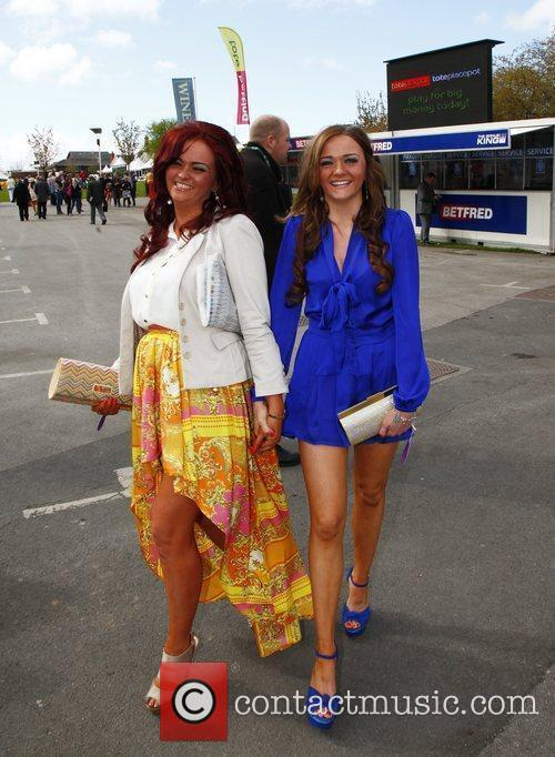 Racegoers - Fashion during Liverpool Day at the...