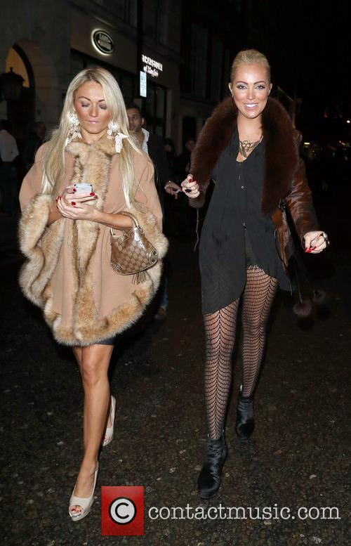 Aisleyne Horgan-Wallace in good spirits whilst out with...