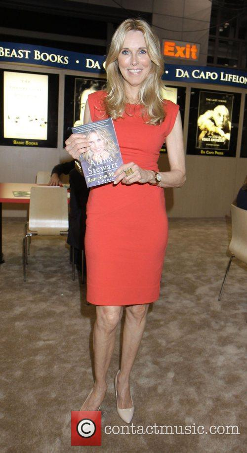Alana Stewart introducing a promotional copy of her...