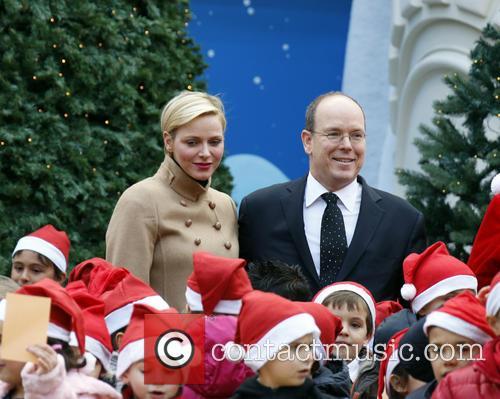 Prince Albert II of Monaco; Princess Charlene of...
