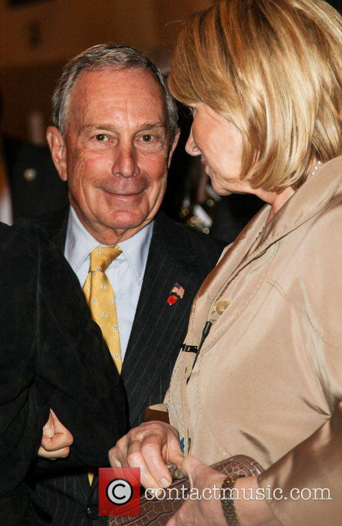 Martha Stewart and Mayor Michael Bloomberg 10