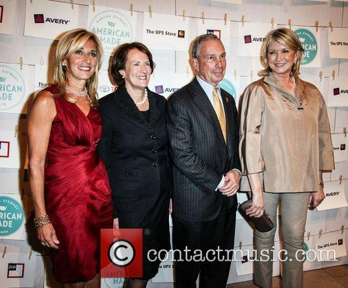 Mayor Michael Bloomberg and Martha Stewart  First...