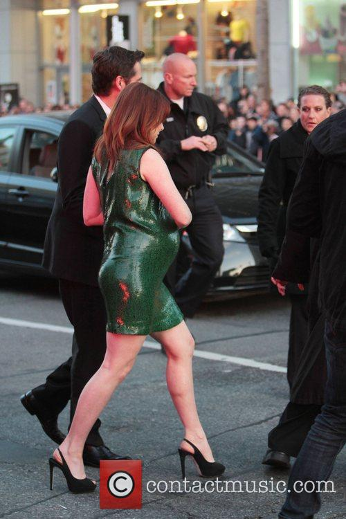 Alyson Hannigan, Alexis Denisof and Grauman's Chinese Theatre 2