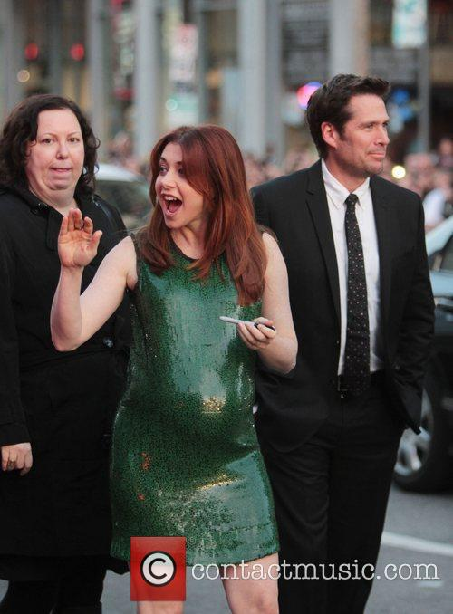 Alyson Hannigan, Alexis Denisof and Grauman's Chinese Theatre 4