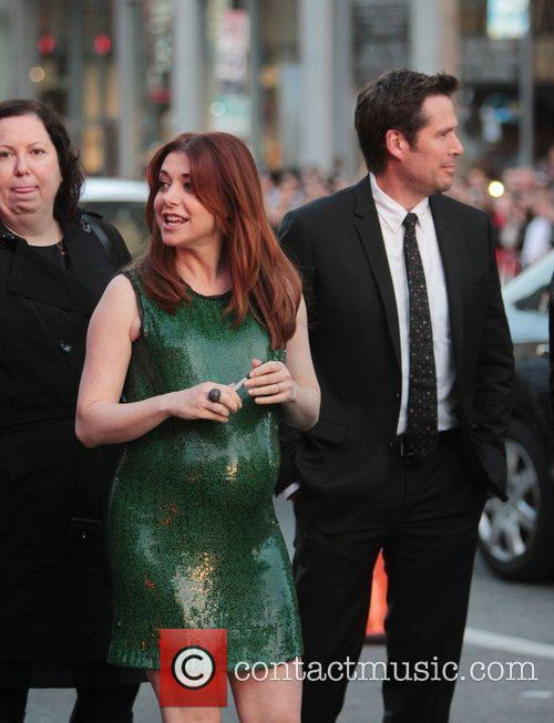 Alyson Hannigan, Alexis Denisof and Grauman's Chinese Theatre 5