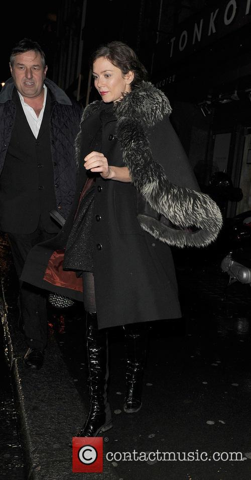 Anna Friel and Groucho Club 1