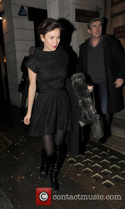 Anna Friel, Steve Coogan and Groucho Club 6