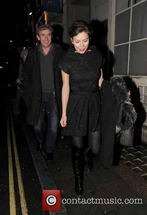 Anna Friel, Steve Coogan and Groucho Club 11