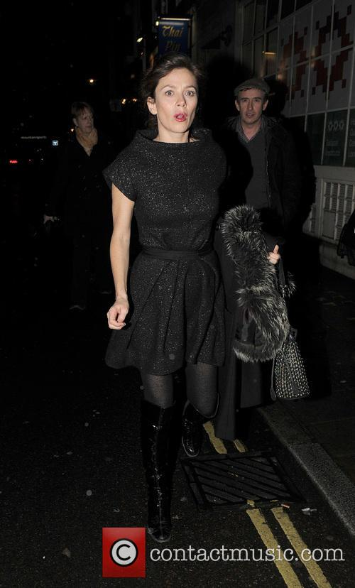 Anna Friel, Steve Coogan and Groucho Club 9