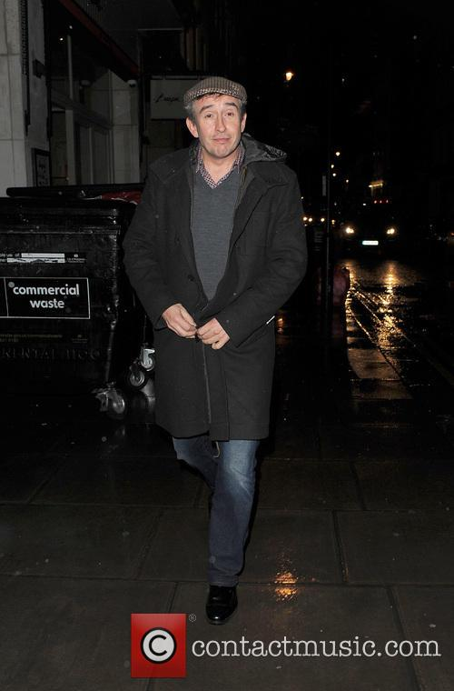 Steve Coogan in Soho