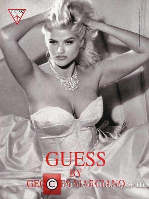 Anne Nicole Smith, Guess Photoshoot