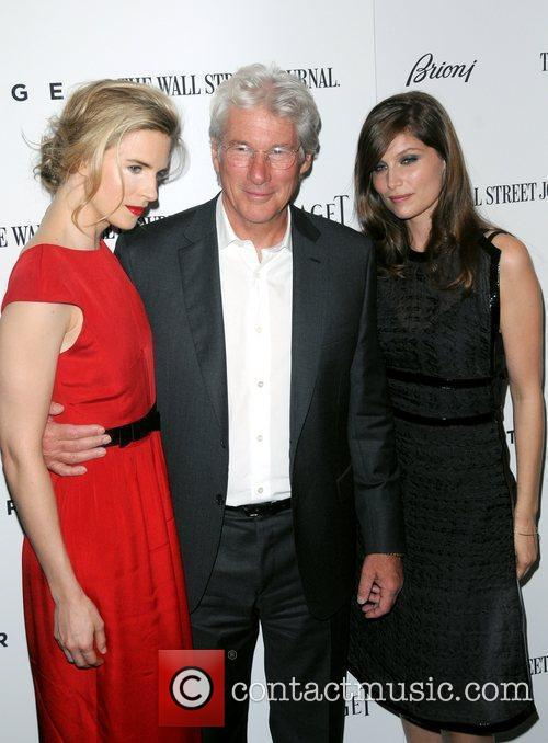Brit Marling, Laetitia Casta and Richard Gere 2
