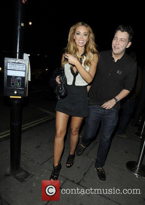 Lauren Pope and Aura Nightclub 1