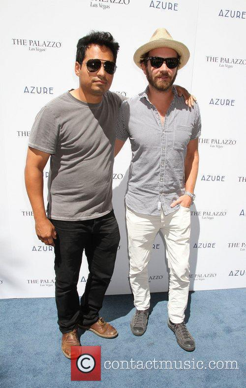 Michael Pena, Danny Masterson (DJ Momjeans)  Azure...