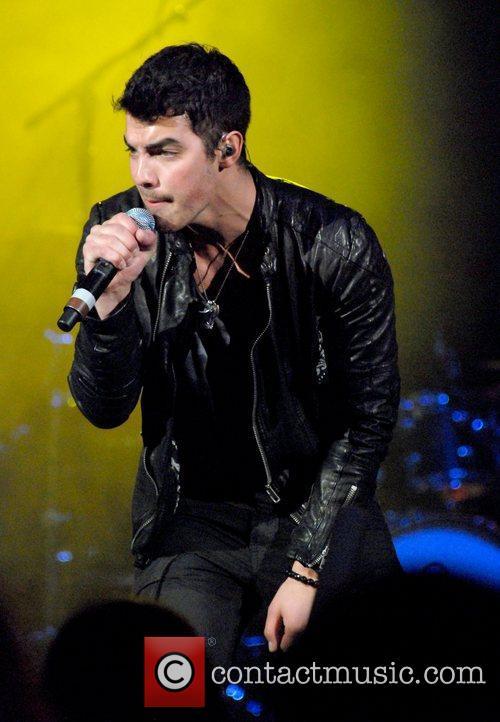 Joe Jonas B96 Sobe Lifewater Jingle Bash at...
