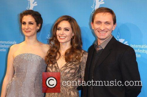 Zana Marjanovic, Angelina Jolie, Goran Kostic  62nd...