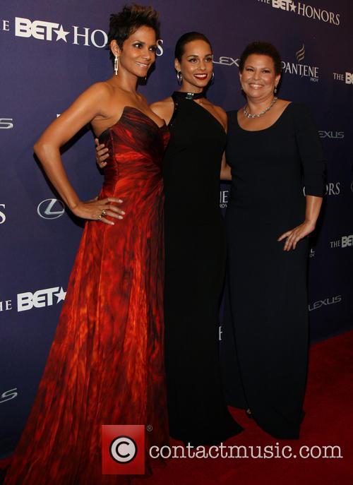 Halle Berry, Alicia Keys, Debra Lee