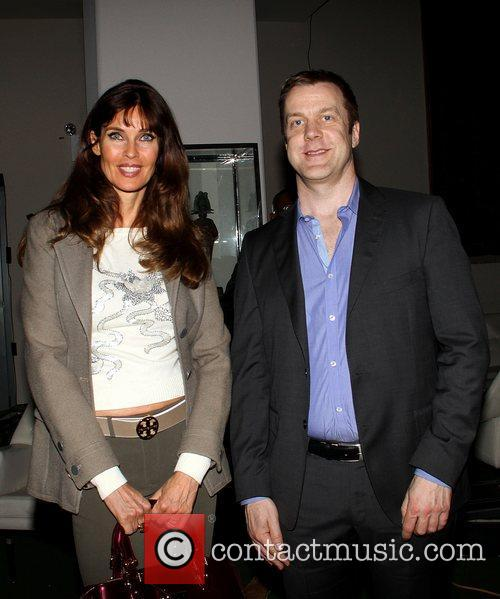 Carol Alt and guest BET 2012 UN Day...