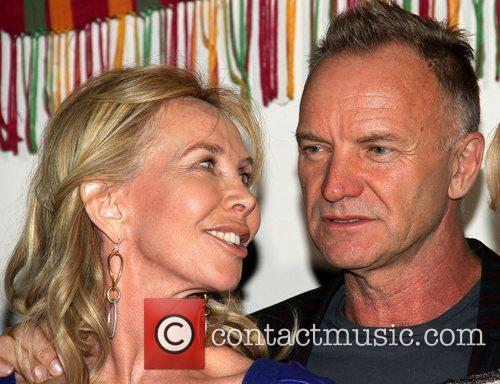 Sting and Trudi Styler 6