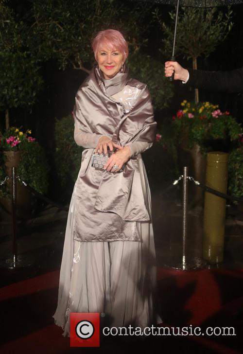 Dame Helen Mirren and British Academy Film Awards 2