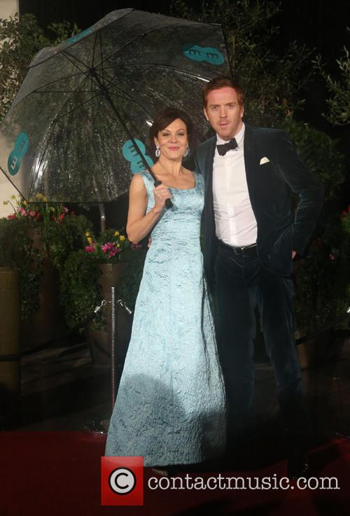 Damian Lewis and wife Helen McCrory The 2013...