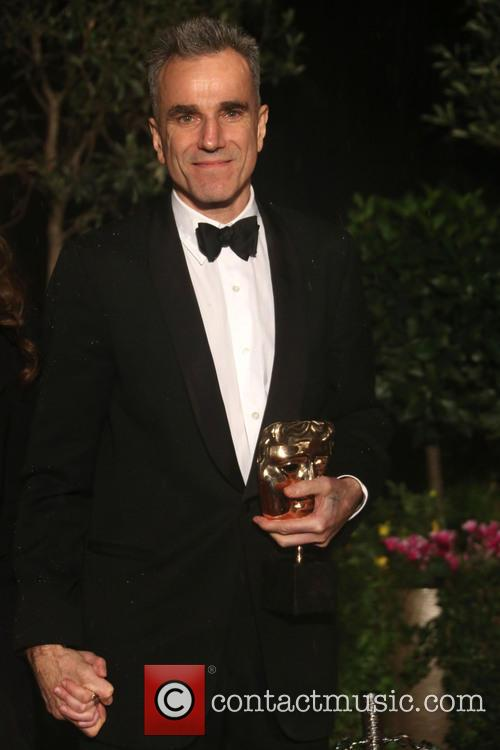 Daniel Day-Lewis at the 2013 BAFTAs party