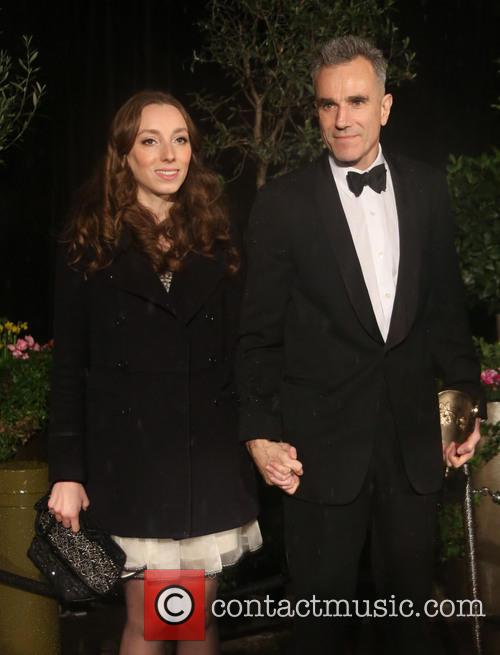 Daniel Day Lewis with his niece Charissa Shearer...