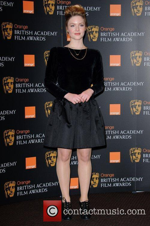 Holliday Grainger and Bafta 8