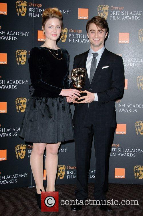 Holliday Grainger, Daniel Radcliffe and Bafta 1