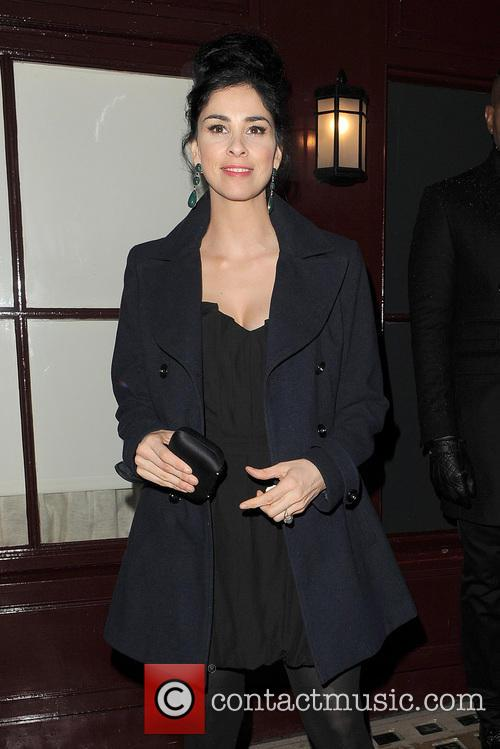 sarah silverman the weinstein company post bafta party 20123978