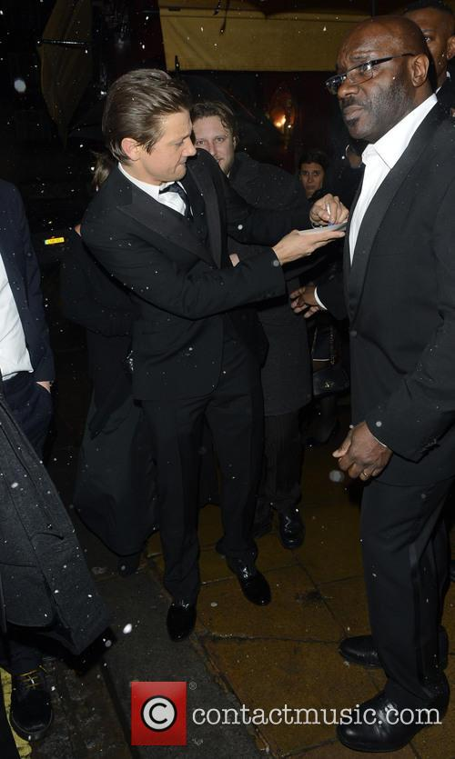 Jeremy Renner The Weinstein Company Post-BAFTA Party at...