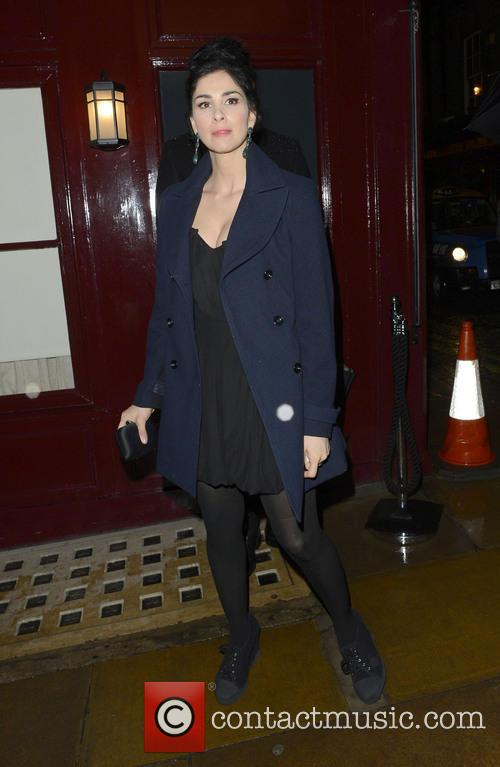 sarah silverman the weinstein company post bafta party 20124385