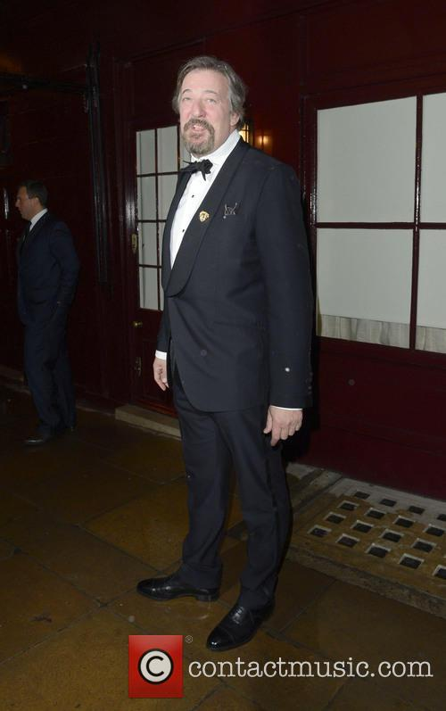 Stephen Fry The Weinstein Company Post-BAFTA Party at...