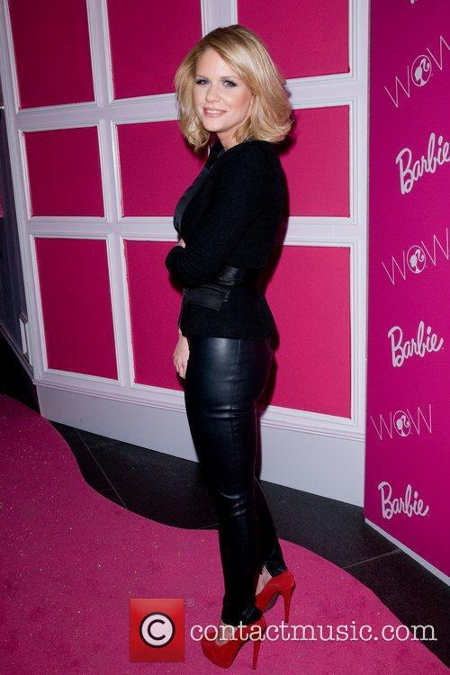 Carrie Keagan Barbie: The Dream Closet event during...