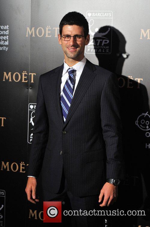 Novak Djokovic Barclays ATP World Tour Finals Gala...