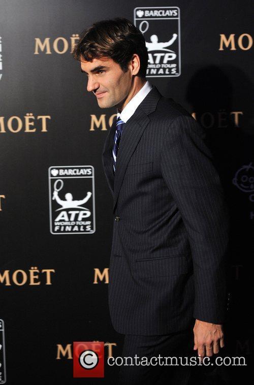 Roger Federer Barclays ATP World Tour Finals Gala...