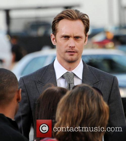 Alexander Skarsgard Battleship premiere at the NOKIA Theatre...