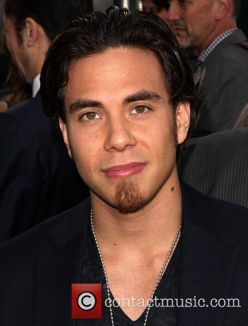 Apolo Ohno Battleship premiere at the NOKIA Theatre...