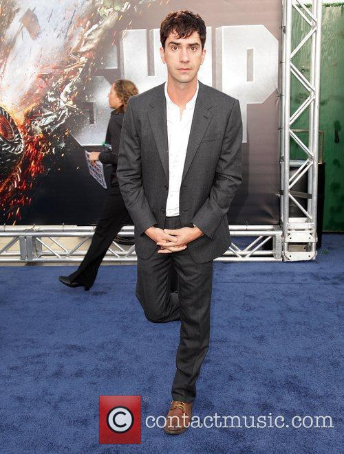 Hamish Linklater Battleship premiere at the NOKIA Theatre...