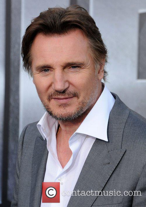 Liam Neeson Battleship premiere at the NOKIA Theatre...