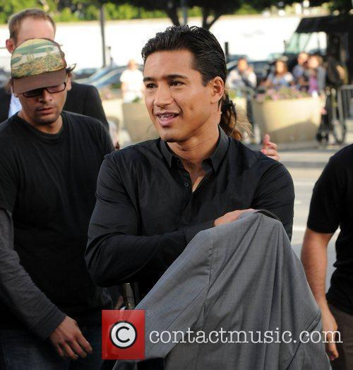 Mario Lopez Battleship premiere at the NOKIA Theatre...