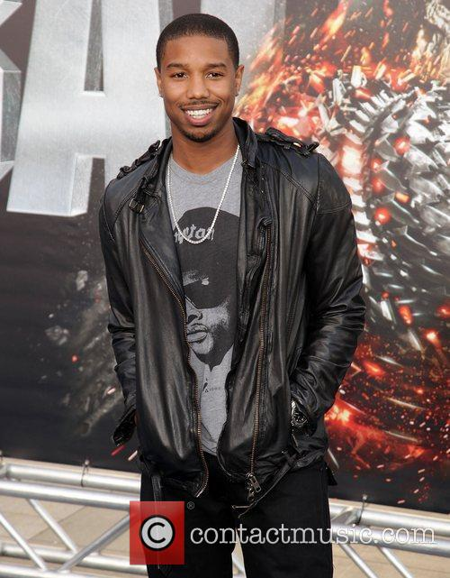 michael b jordan battleship premiere at the 3873381