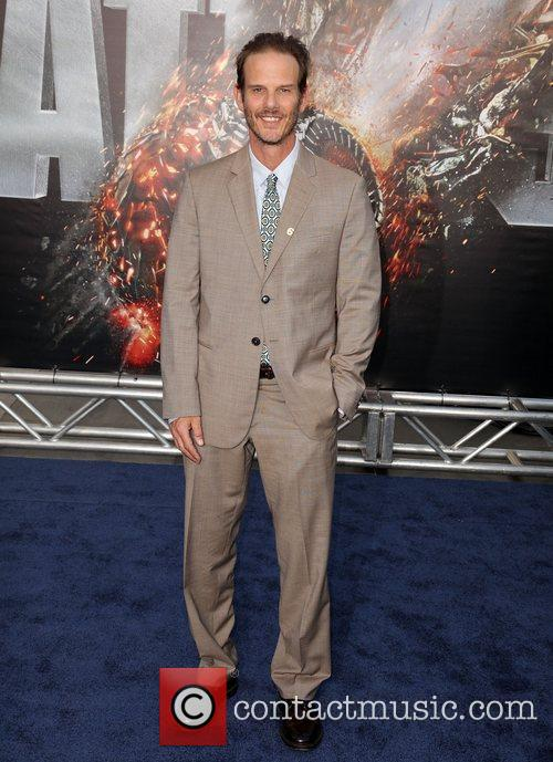 Peter Berg Battleship premiere at the NOKIA Theatre...