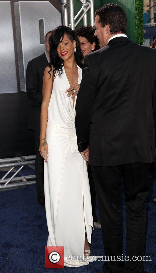Rihanna Battleship premiere at the NOKIA Theatre -...