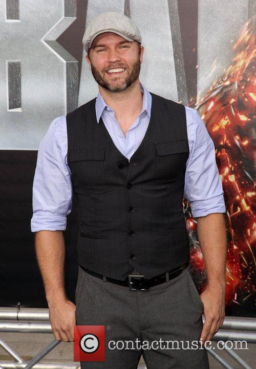 Scott Porter Battleship premiere at the NOKIA Theatre...