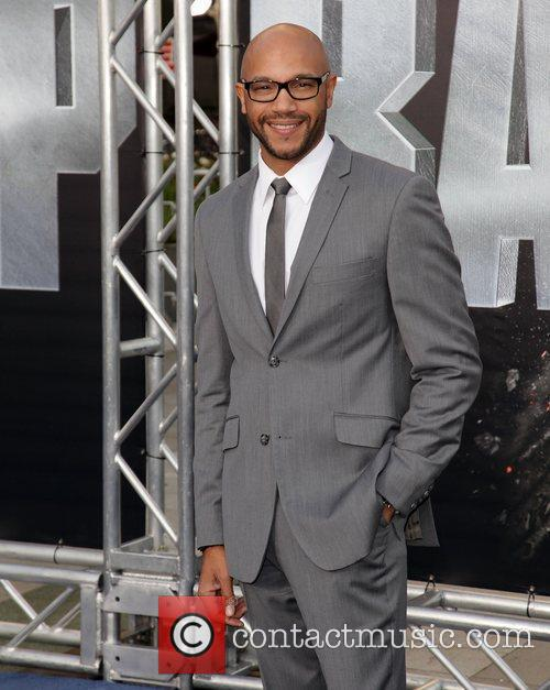 Stephen Bishop Battleship premiere at the NOKIA Theatre...