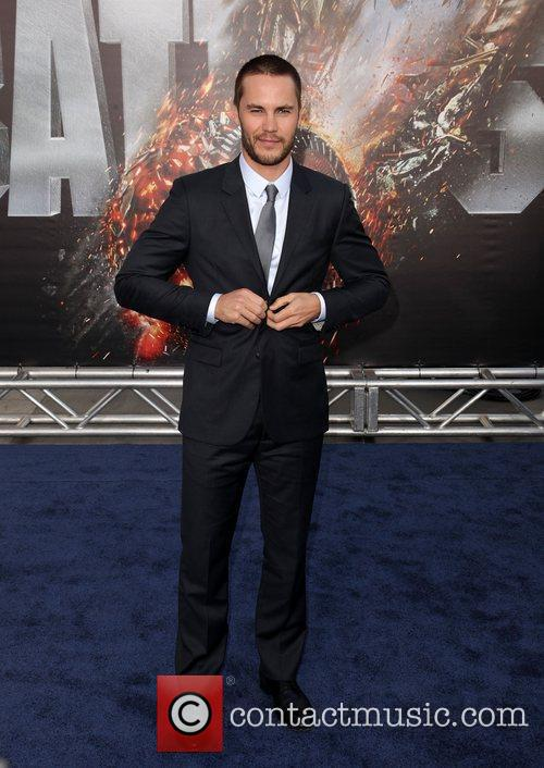 Taylor Kitsch Battleship premiere at the NOKIA Theatre...
