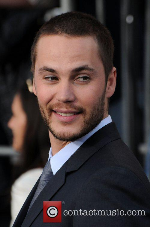 taylor kitsch battleship premiere at the nokia 3873470